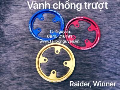 VÀNH CHỐNG TRƯỢT NHÔM  RAIDER, WINNER, EXCITER 150