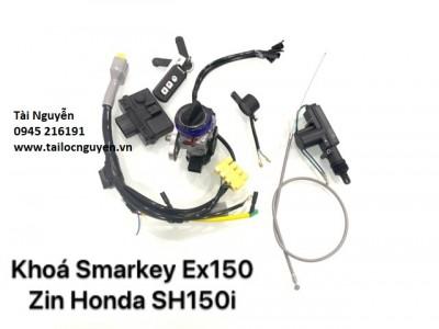 BỘ SMARKEY BẢN CAO CẤP HÀNG CHÍNH HÃNG SH150i EXCITER/SH Ý