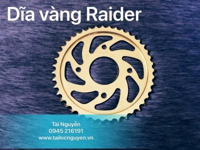 DĨA VÀNG RECTO CHO RAIDER
