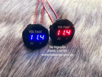 Đồng hồ Đo volt mẫu mới tròn
