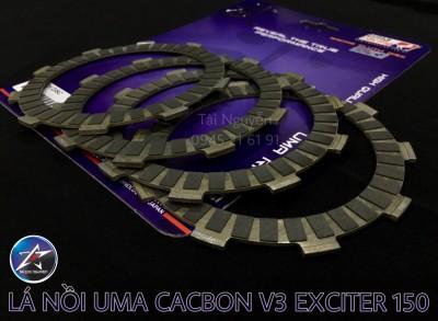 BỐ NỒI UMA RACING V3 CARBON CHO EXCITER 150