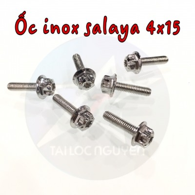 ỐC INOX SALAYA SIZE 4x15