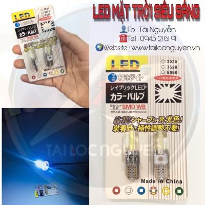 LED DEMI MẶT TRỜI CHÂN T10