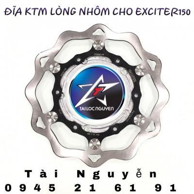 ĐĨA KTM 260mm LUÔN LÒNG NHÔM GẮN EXCITER 150