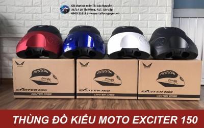 THÙNG ĐỒ KIỂU MOTO GẮN EXCITER 150