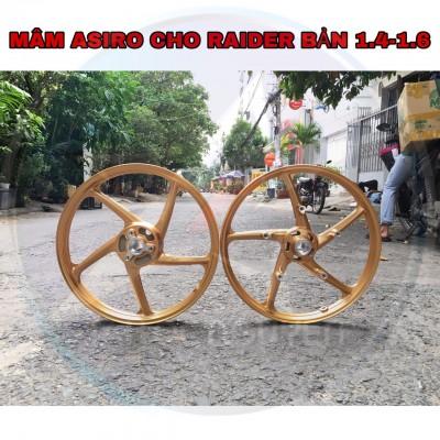 MÂM ASIRO 5 CÂY BẢN 1.4-1.6 CHO SUZUKI RAIDER