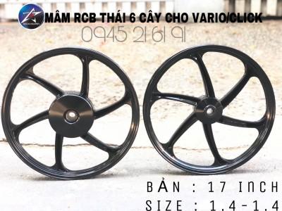 MÂM RCB 6C BẢN 1.4-1.4/17INCH CHO VARIO