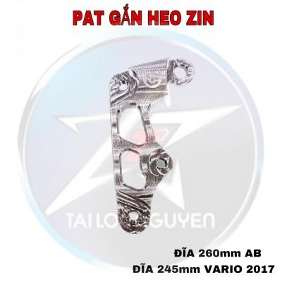 PAT HEO ZIN GẮN ĐĨA 245mm VARIO 2017 - ĐĨA 260mm AB