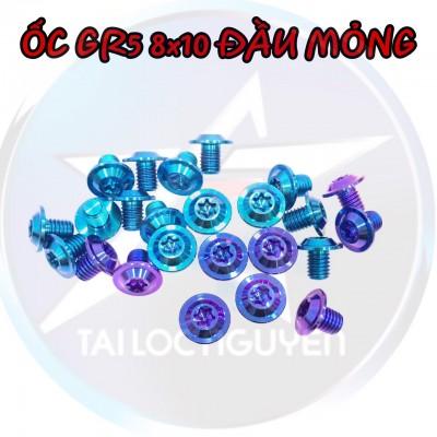 ỐC TITANIUM GR5 8X10