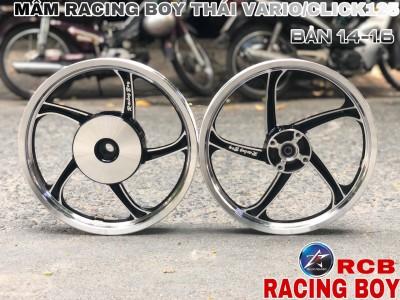 MÂM RACING BOY THÁI CHO VARIO/CLICK125 BẢN 1.4-1.6 14INCH