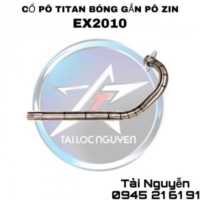 CỔ PÔ TITAN BÓNG GẮN PÔ ZIN CHO EXCITER 2010 VÀ EXCITER 2011