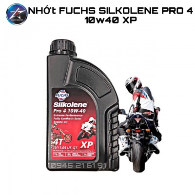 Nhớt Fuchs Silkolene Pro 4 10W40 XP