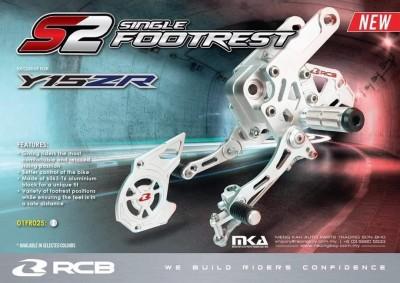 SỐ GÃY ĐƠN RCB S2 (RCB S2 Single Footrest)  EXCITER 150