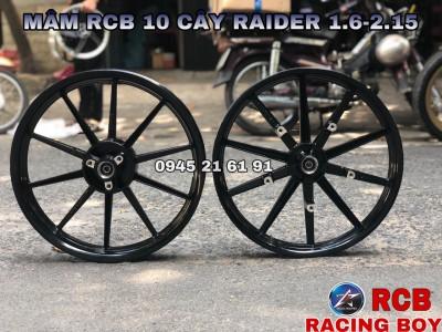 MÂM RACING BOY 10 CÂY CHO RAIDER/SATRIA/FI BẢN 1.6-2.15