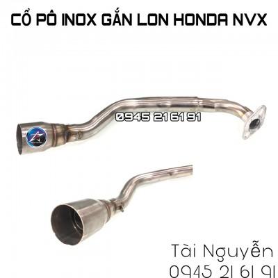 CỔ PÔ INOX GẮN LON CHO NVX