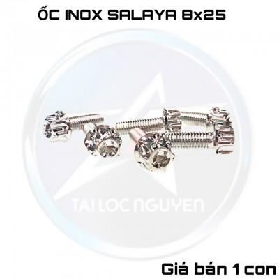 ỐC INOX SALAYA 8x25