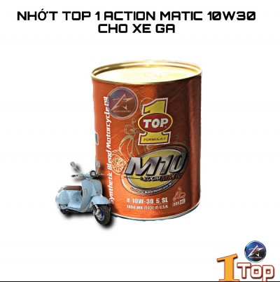 Nhớt Top 1 M10 Zoom Matic 10w30