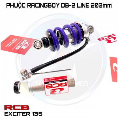 PHUỘC RCB DB2 LINE EXCITER 135/EXCITER 150/HONDA WINNER/RAIDER/SATRIA FI