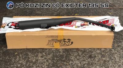 Pô tăng giả zin Kozi cho xe Exciter 135 2011-2014.