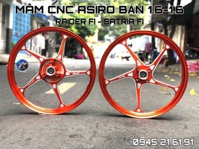 MÂM ASIRO CNC CHO EXCITER 150/WINNER/SONIC/RAIDER/SATRIA FI