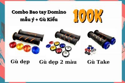COMBO BAO TAY DOMINO + GÙ TAKE/DẸP 100K