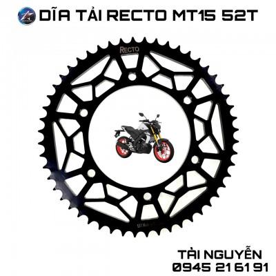 DĨA RECTO MT15 52T