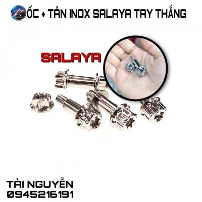 ỐC VÀ TÁN TAY THẮNG INOX SALAYA