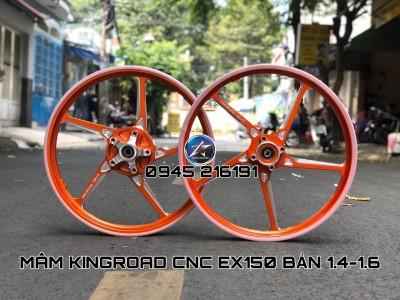 MÂM KINGROAD CNC CHO EXCITER 150 BẢN 1.4-1.6