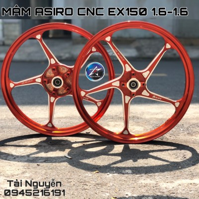MÂM ASIRO XÉO CNC CHO EXCITER 150 1.6-1.6