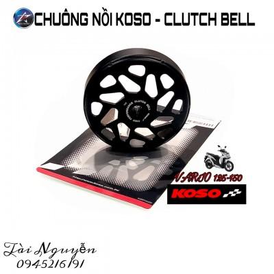CHUÔNG NỒI VÀ BỘ BỐ BA CÀNG KOSO CHO VARIO/CLICK 125-150/AB