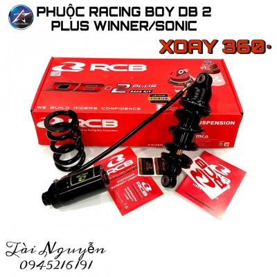 PHUỘC RCB DB2+ RACE KIT PREMIUM ĐEN TY VÀNG 2020 CHO HONDA WINNER/SONIC