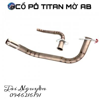 CỔ PÔ TITAN MỜ GẮN PÔ ZIN CHO AIRBLADE 125-150