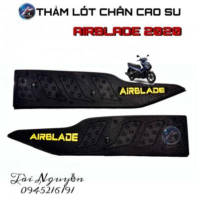THẢM LÓT CHÂN CAO SU CHO AIRBLADE 2020
