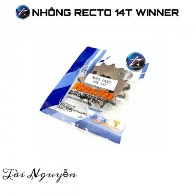 NHÔNG RECTO THÁI CHO WINNER 14T