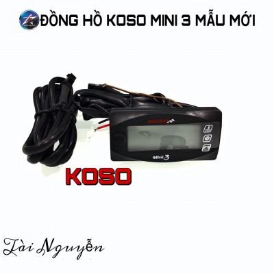 ĐỒNG HỒ KOSO MINI 3 CHỨC NĂNG MẪU 2020