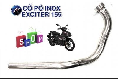 CỔ PÔ INOX 304 CHO EXCITER 155