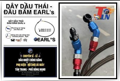 DÂY DẦU THẮNG THÁI - ĐẦU BẤM EARL'S