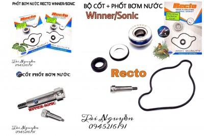 BỘ CỐT VÀ PHỐT BƠM NƯỚC RECTO WINNER/SONIC