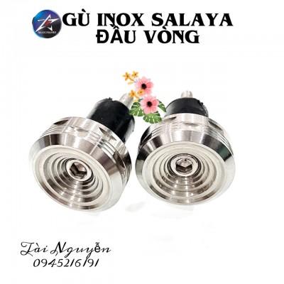 GÙ INOX SALAYA ĐẦU VÒNG CHO XE MÁY