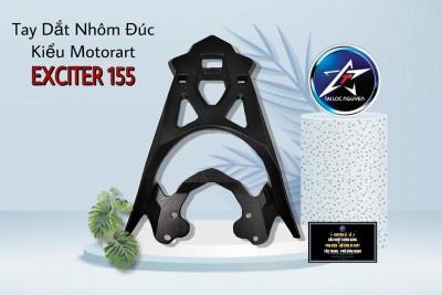 TAY DẮT NHÔM ĐÚC KIỂU MOTORART CHO EXCITER EX155